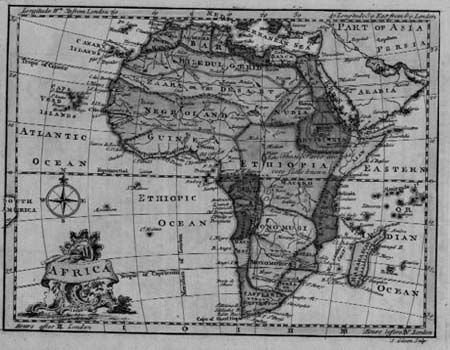 Ancient Map of Africa